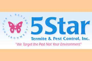 5-Star Termite &amp; Pest Control Inc.