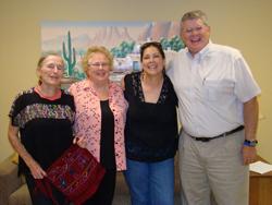 Ila Abernathy, Gayle & Candee Castaneda & Jeff