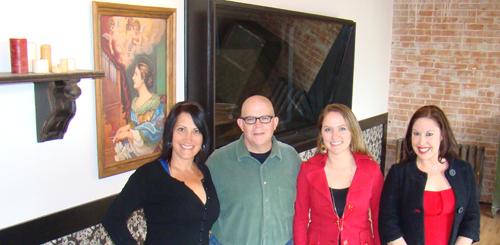Margo, Fred, Brandi, & Caitlin at Saint Cecilia Studios