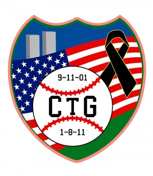 Christina-Taylor Green: Special patch issued by the Canyon del Oro Little League to remember Christina-Taylor Green