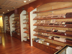Anthony's Cigar Emporium: Check out the humidor at their new store at Broadway Blvd. and Craycroft Rd.