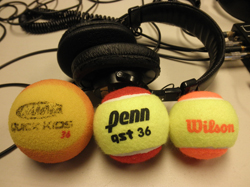 The Tennis Show: Training balls for tennis!
