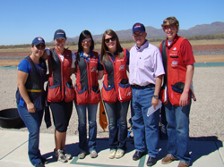 Fred & the US Shooting Team: Our Olympians!!!