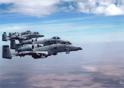 DMAFB: A-10's in the air