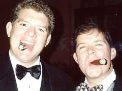 Cigar Time: Jeff and Fred