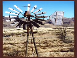F. Ronstadt Windmill: One of the windmills in Southern Arizona installed by the F. Ronstadt Company