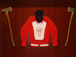 Fire Central: Vintage Uniform on Display