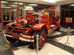 Fire Central: Restored Ahren's-Fox Fire Engine